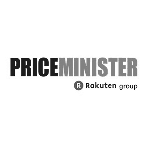 Logo Priceminister Rakuten group
