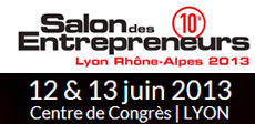 Logo salon des entrepreneurs 2013