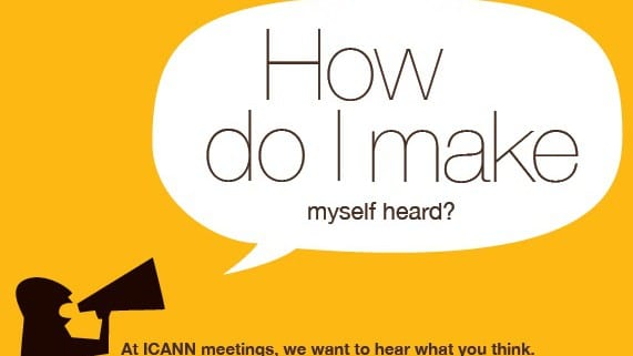 Logo promo pour Icann Meetings