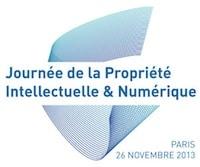 Logo Journée de la propriété intellectuelle et numérique 2013
