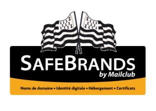 Logo Safebrands spécial Bretagne pour nom domaine .bzh