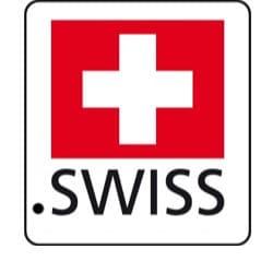logo officiel lancement tld .swiss