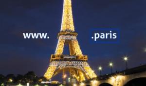 nom de domaine en .paris