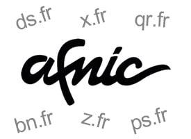 Afnic nom de domaine spécifique en 2 caractères