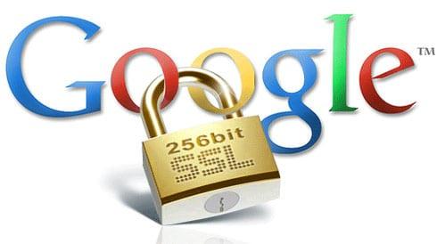 Google veut la présence impérative des certificats SSL