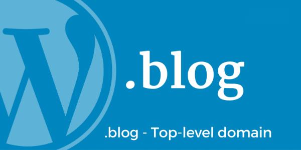 Lancement des noms de domaine .BLOG