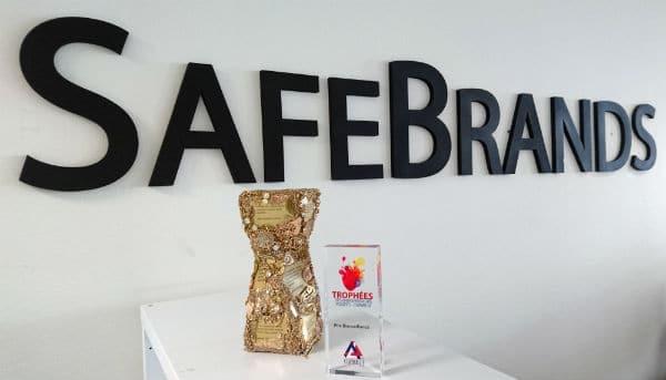 Récompense Bienveillance 2016 par CGPME13 à SafeBrands