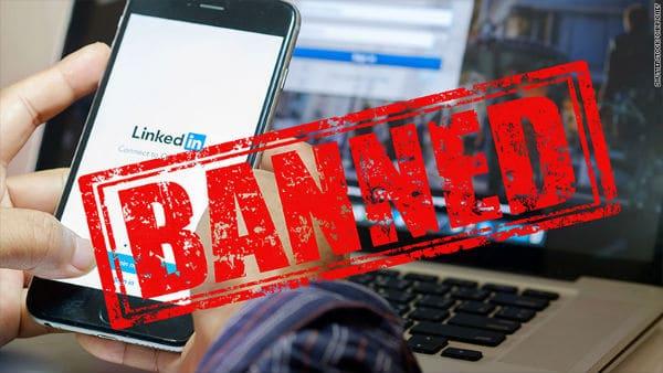 Le réseau social professionnel inkedIn interdit en russie