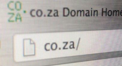 enregistrement nom de domaine co.za